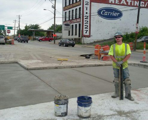 2nd year apprentice Jon Jenkins Lickrun project Cincinnati